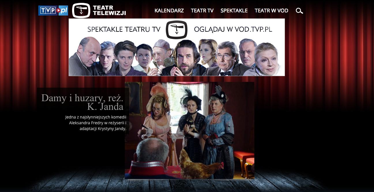 Teatr Telewizji Teatr Telewizji tvp.pl