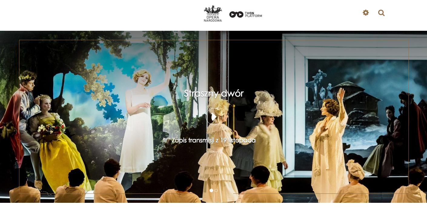 VOD Teatr Wielki Opera Narodowa VOD TWON