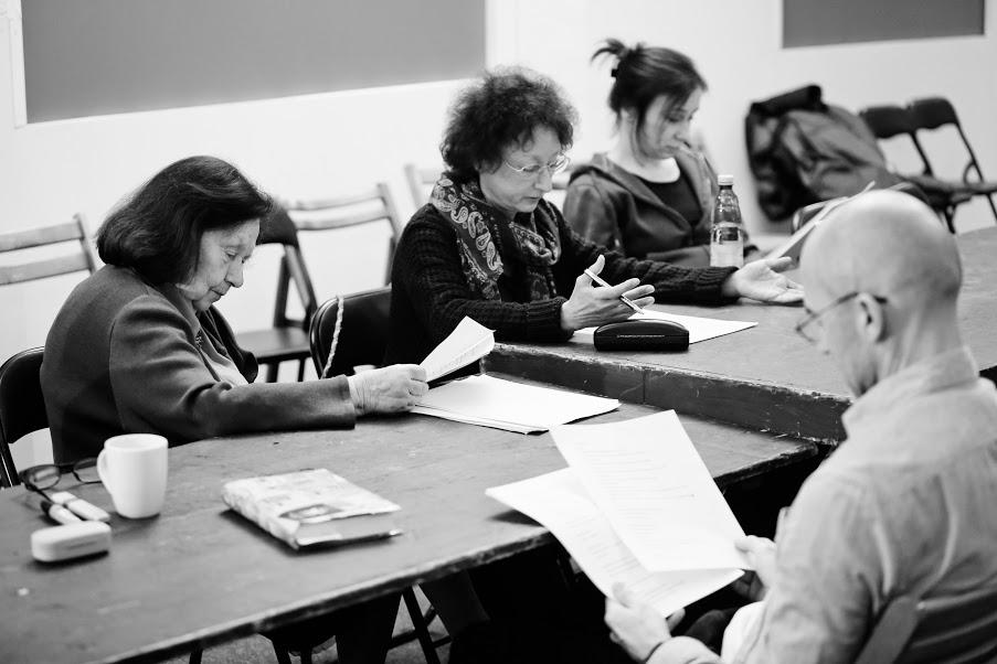 Dobrze żyjcie - to najlepsza zemsta_ w Teatrze Żydowskim, próby, fot. Marta Kuśmierz